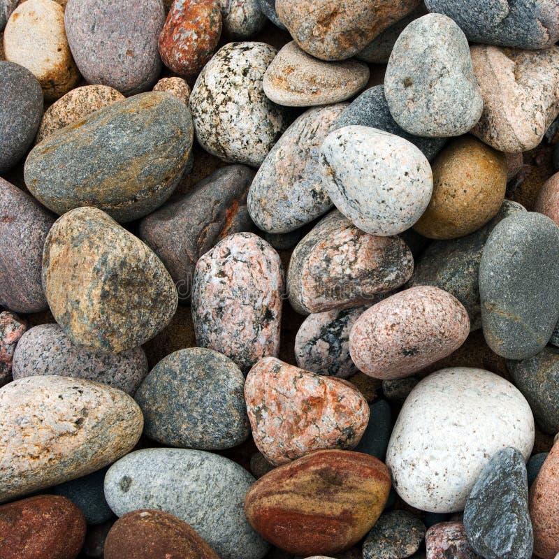Overzeese stenen achtergrondtextuur stock fotografie