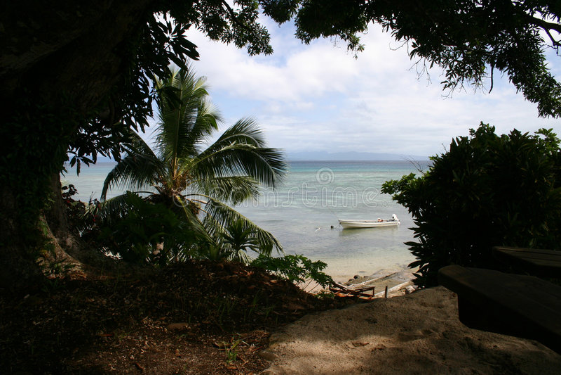 Overzeese van Fiji Inham stock foto