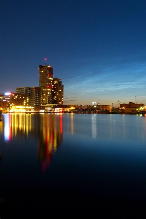 Overzeese van Gdynia Torens stock foto's