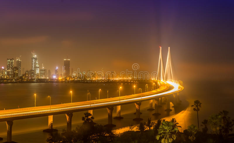 Overzeese Verbinding, Mumbai, India royalty-vrije stock fotografie