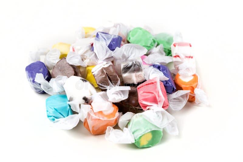 Overzeese zoute taffy stock afbeelding