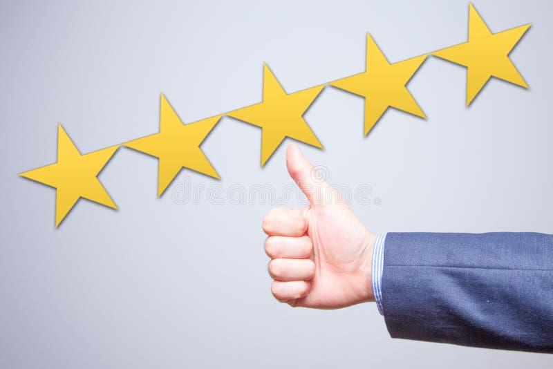 Overzicht, classificatie, het rangschikken, evaluatie en classificatieconcept royalty-vrije stock foto's