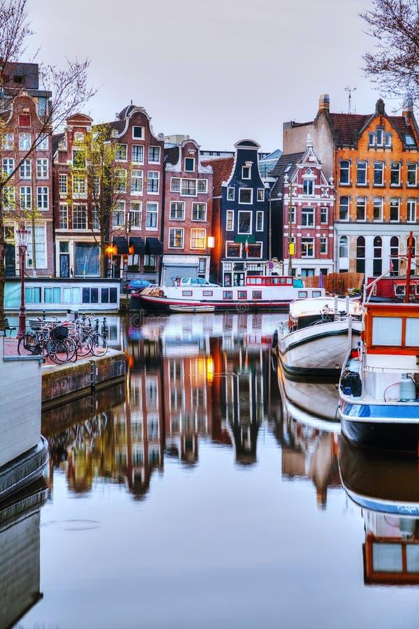 Overzicht van Amsterdam stock afbeeldingen