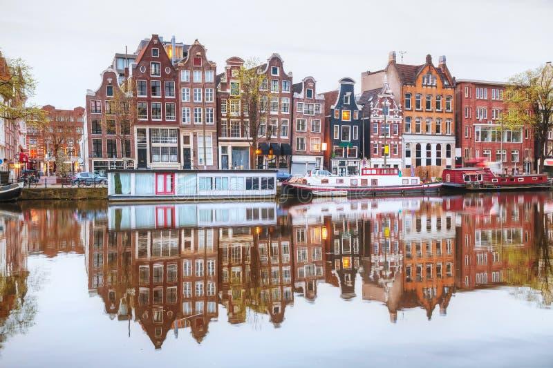 Overzicht van Amsterdam royalty-vrije stock foto