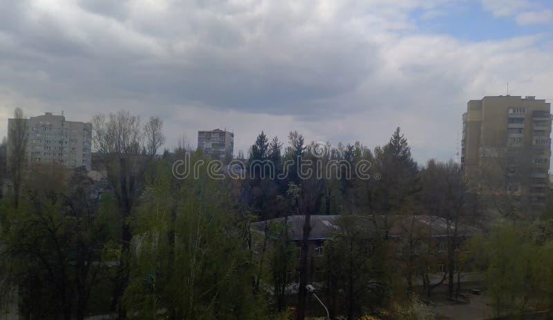 Overzicht van de Kiev stock afbeelding