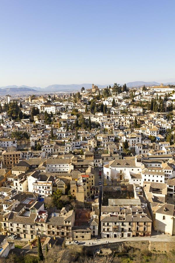 Download Overzicht van Granada stock foto. Afbeelding bestaande uit bergen - 29506066