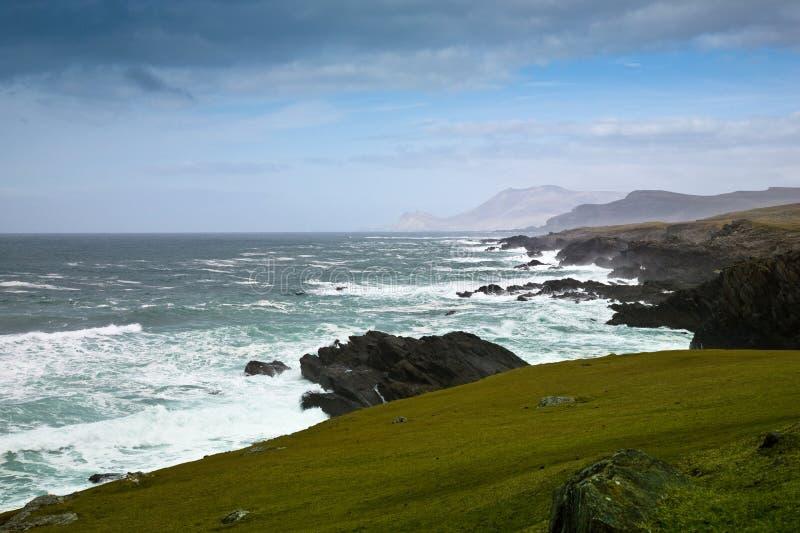 Ovest-litorale Irlanda Kerry fotografie stock libere da diritti