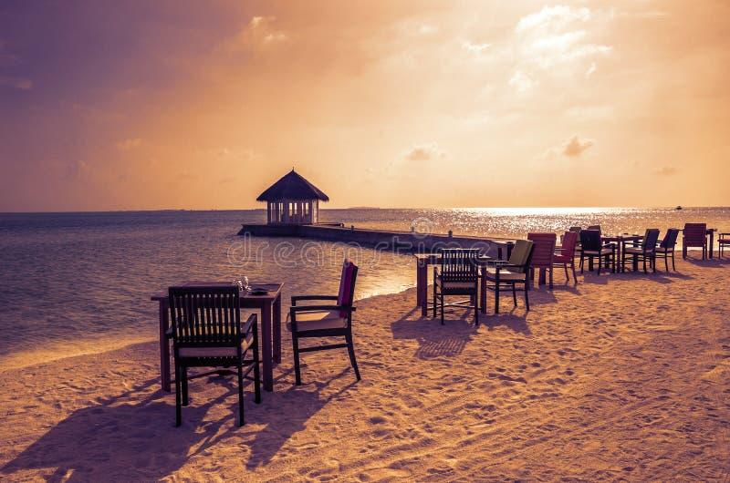 Ovest stupefacente in Maldive immagini stock