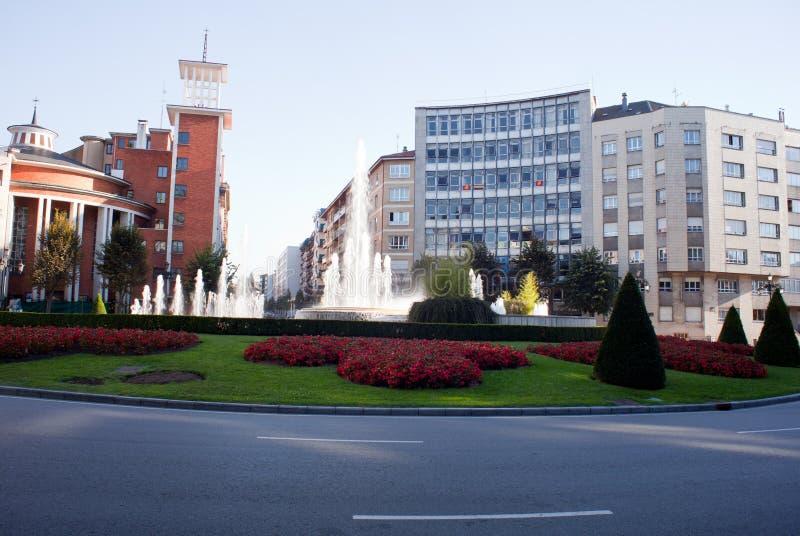 Oviedo royalty-vrije stock foto's