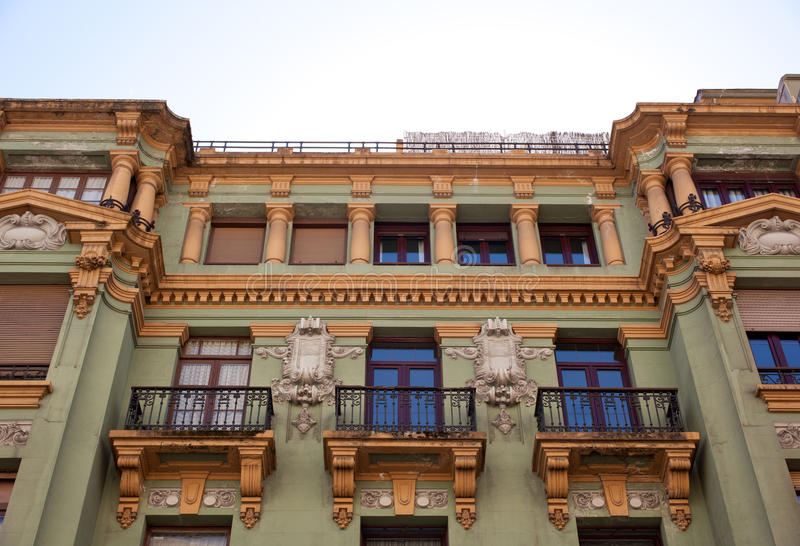 Download Oviedo stock image. Image of balcony, home, unesco, houses - 26620381