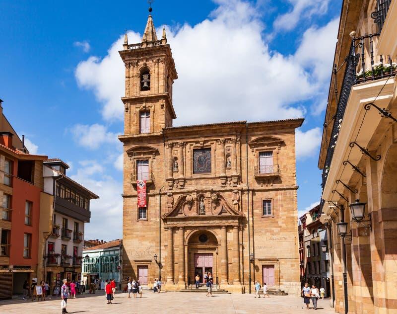 Oviedo, Espanha fotos de stock
