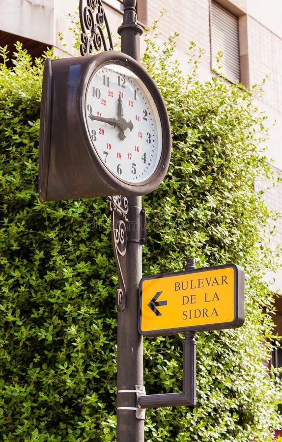 Oviedo, Spagna fotografia stock