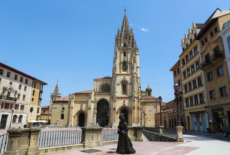 Oviedo royalty free stock images