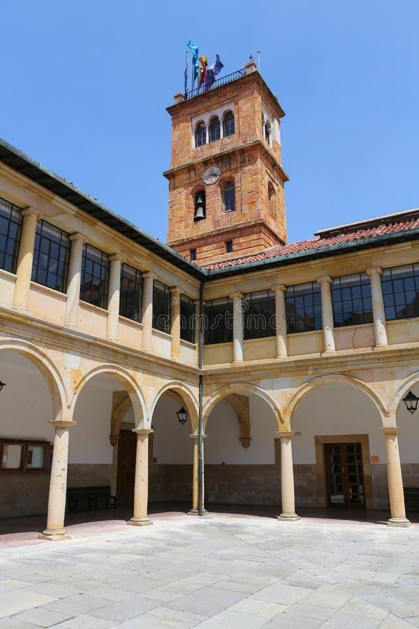 Oviedo Universiteit royalty-vrije stock foto's
