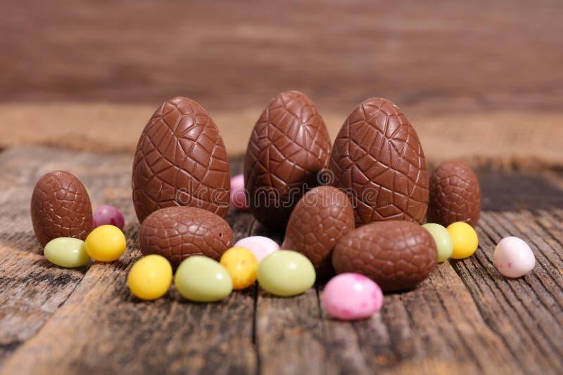 Ovo de chocolate imagens de stock royalty free