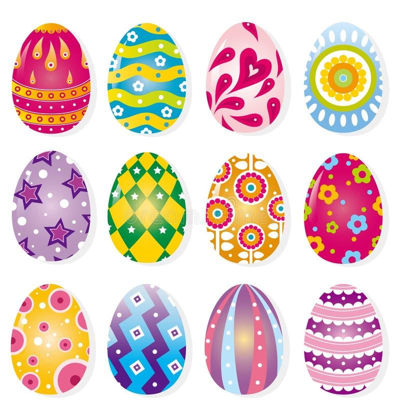Ovo de Easter dos desenhos animados ilustração stock