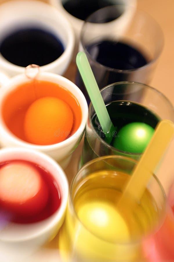 Ovo de Easter que colore 07 imagem de stock