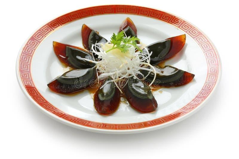Ovo do século, alimento chinês fotos de stock