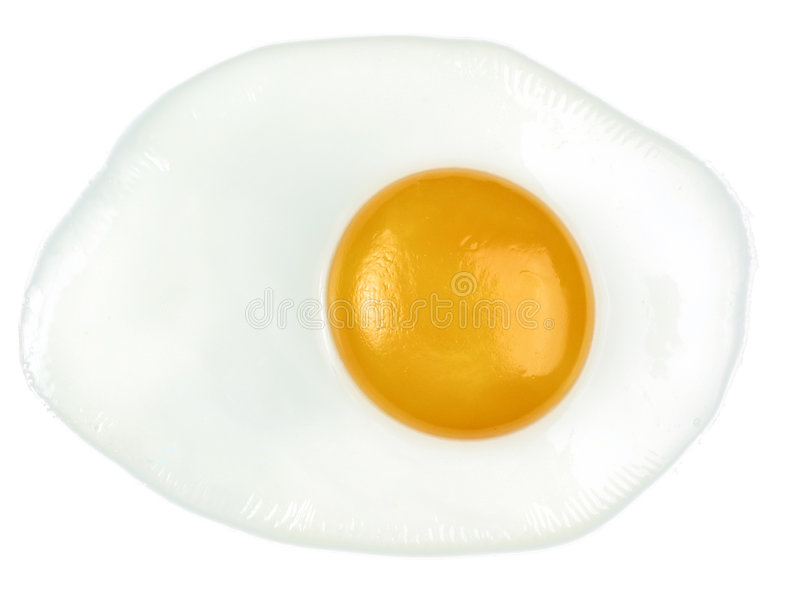 Download Ovo fritado imagem de stock. Imagem de cozinheiro, branco - 55157
