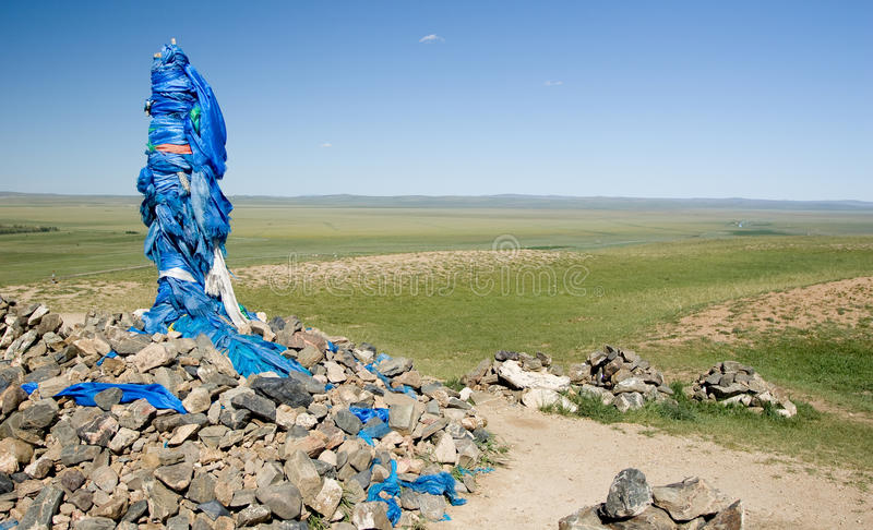 Download Ovoo in Mongolia stock image. Image of shaman, culture - 15763605
