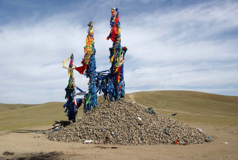 Download Ovoo in Mongolia stock image. Image of scenery, mongolia - 16802081