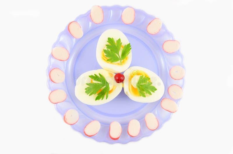 Download Ovos imagem de stock. Imagem de placa, tasty, proteína - 26520527