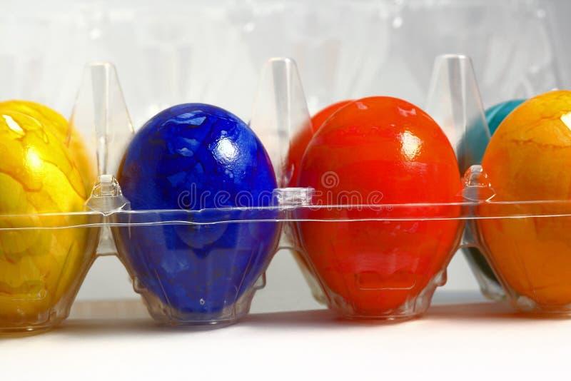 Download Ovos coloridos foto de stock. Imagem de frescor, azul - 12802862