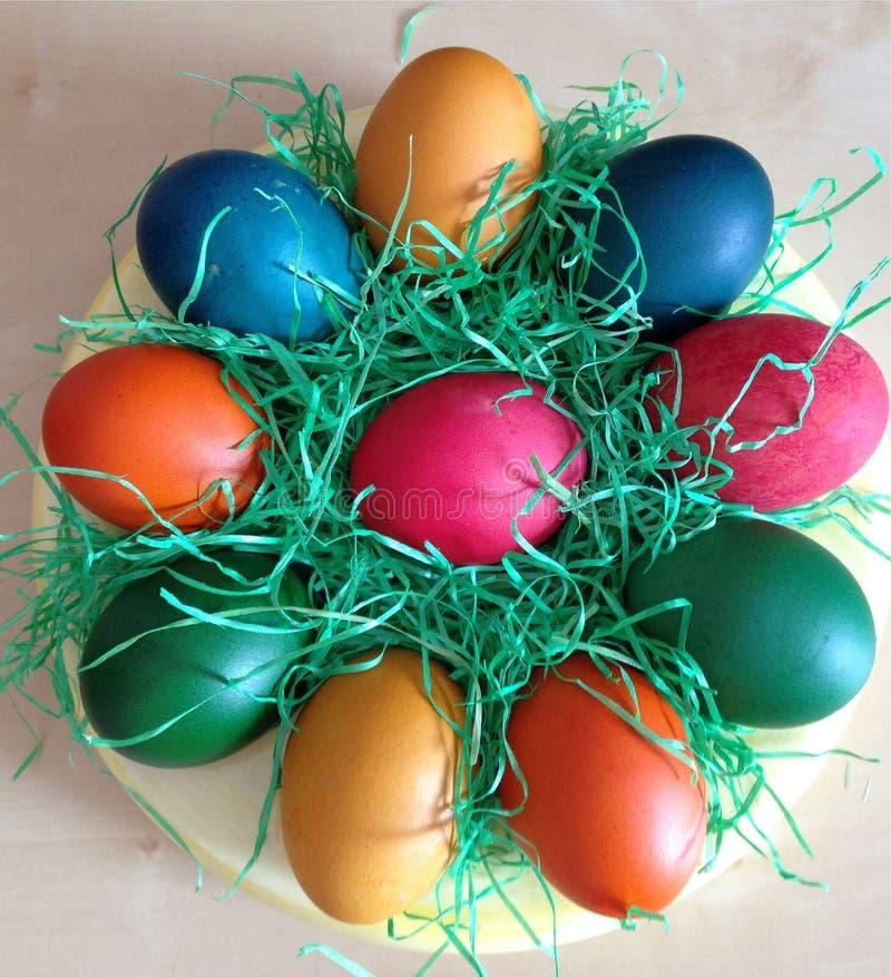 Ovos da páscoa imagens de stock