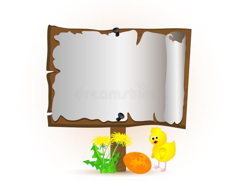 Download Fundo de Easter ilustração do vetor. Ilustração de quadro - 29843274