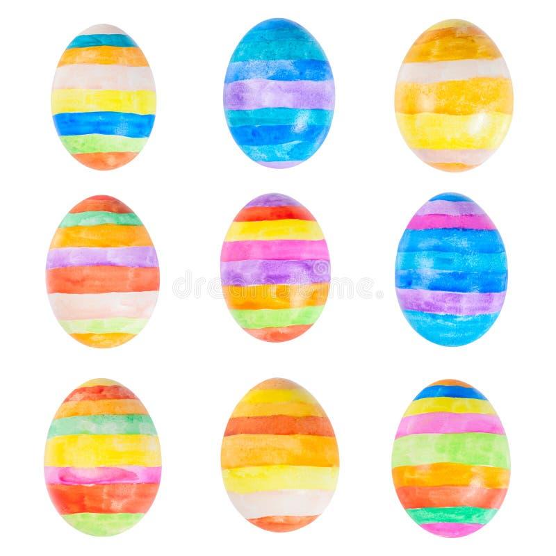 Download Ovos da páscoa isolados imagem de stock. Imagem de vermelho - 29839039