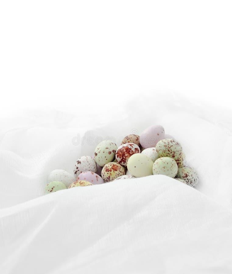 Ovos da páscoa do chocolate II foto de stock royalty free