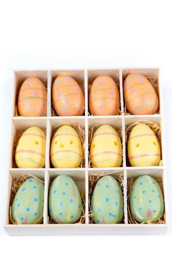 Ovos da páscoa, fundo da Páscoa imagem de stock royalty free