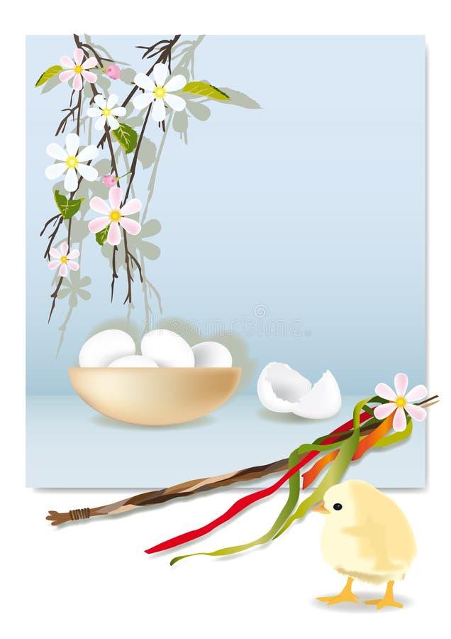 Download Cumprimento de Easter ilustração stock. Ilustração de chicote - 29825780