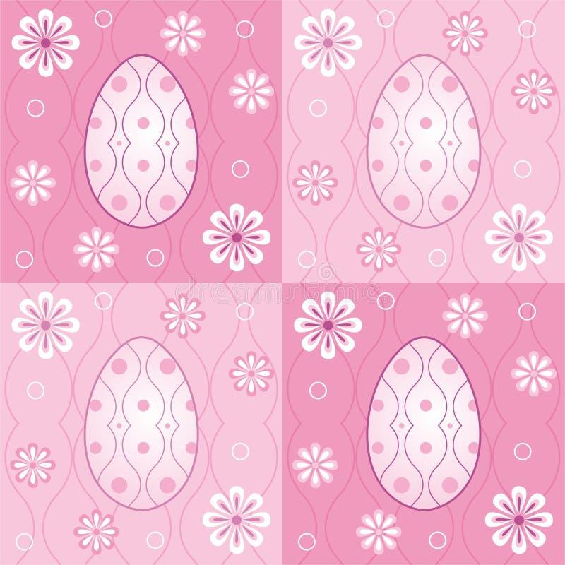 Ovos de Easter ilustração royalty free