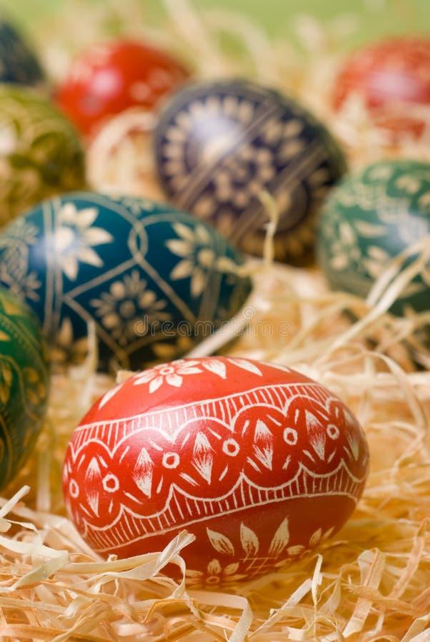 Ovos de Easter. imagens de stock royalty free