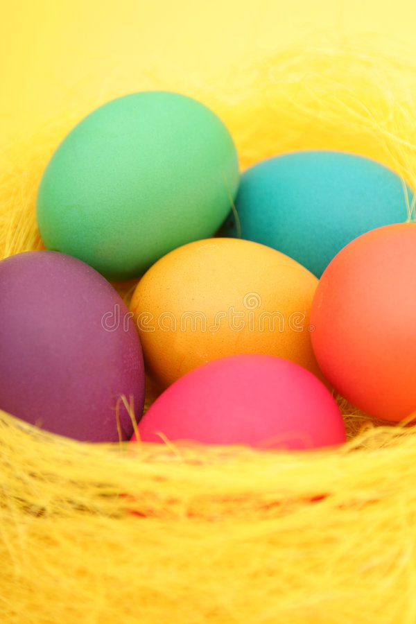 Download Ovos de Easter imagem de stock. Imagem de celebration, de - 529933