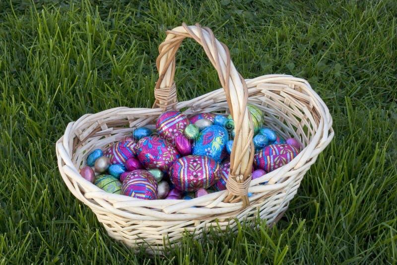Download Ovos de Easter foto de stock. Imagem de caça, mola, chocolate - 540768