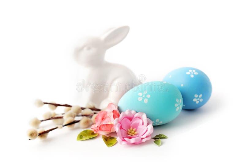 Ovos de Easter isolados fotografia de stock royalty free