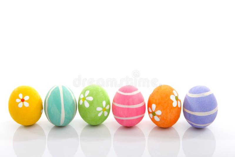 Ovos de easter pintados fotografia de stock