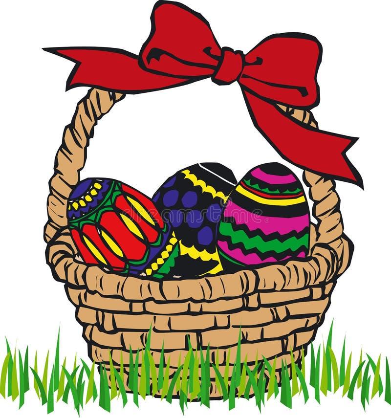 Ovos de Easter - vetor ilustração stock