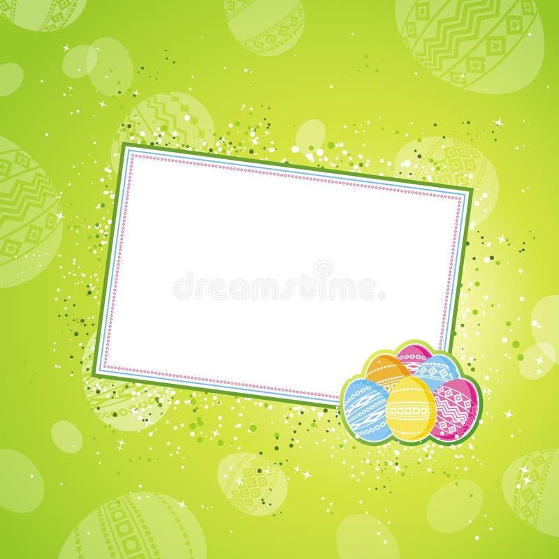 Ovos de Easter, vetor ilustração stock