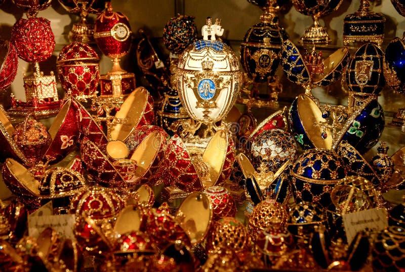 Ovos de Farberge fotos de stock royalty free