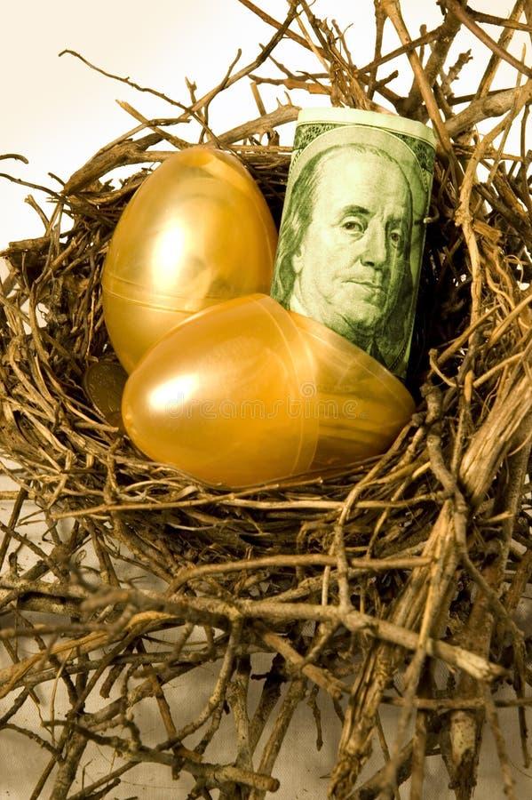 Ovos de ninho foto de stock