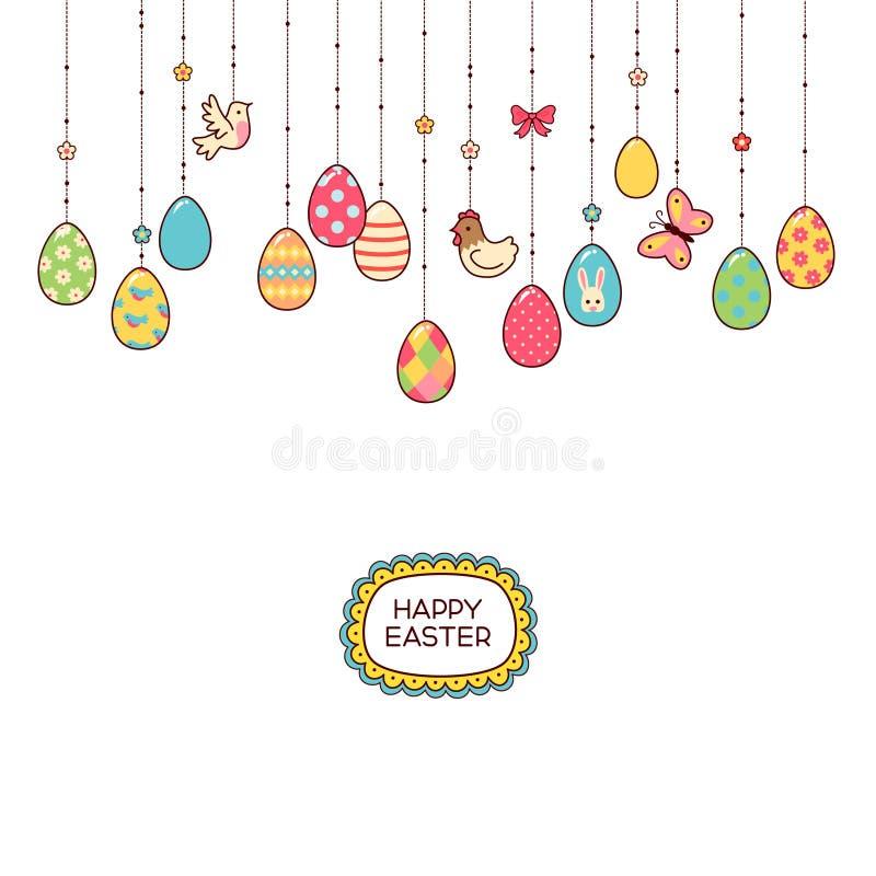 Ovos de suspensão ilustração do vetor