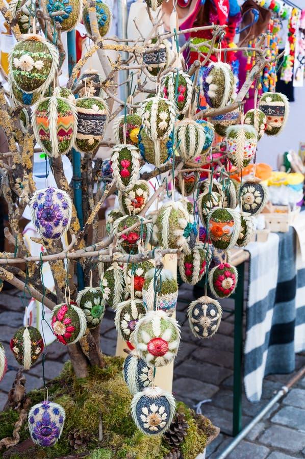 Mercado de Easter imagens de stock royalty free