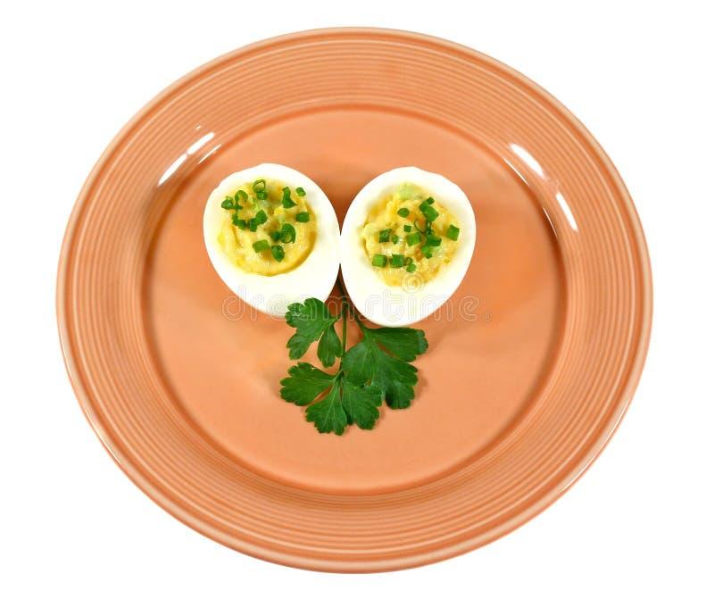 Ovos enchidos 4 fotografia de stock