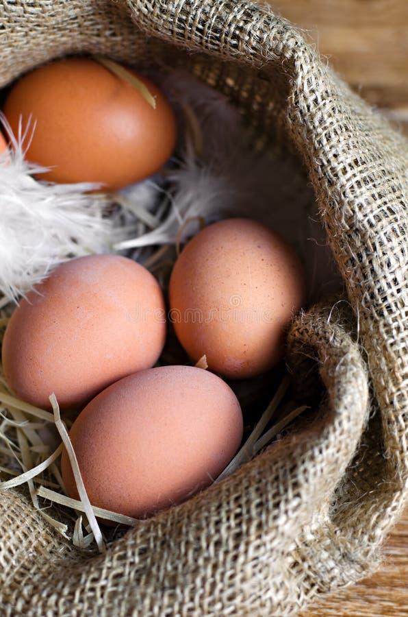 Download Ovos no fundo de madeira foto de stock. Imagem de roxo - 107526870