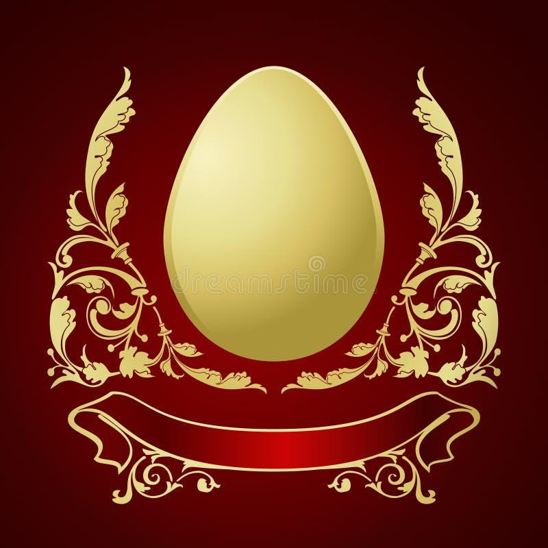Ovos para Easter ilustração stock