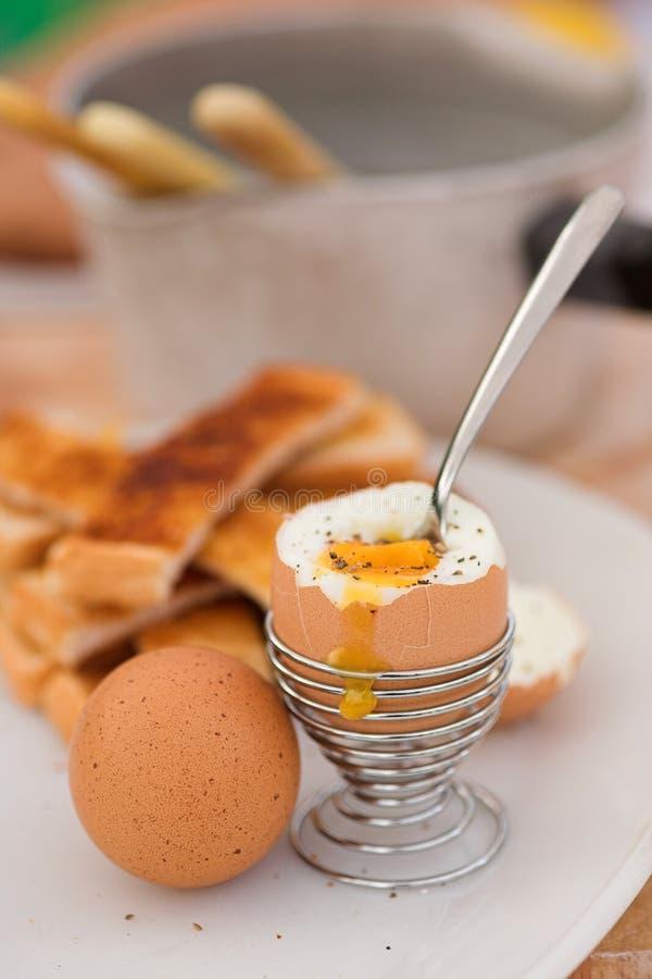 Ovos para o pequeno almoço fotos de stock