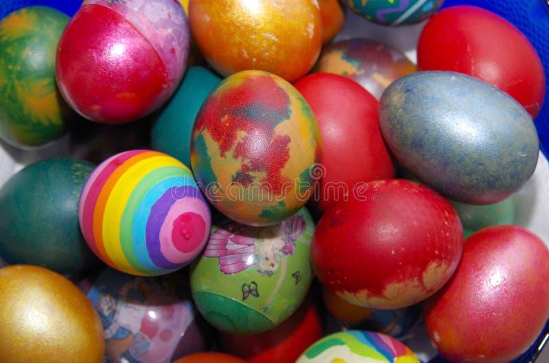 Ovos para a Páscoa fotos de stock